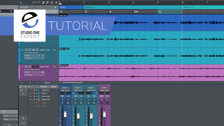 Studio One Studio One 4 Setting Up The Chord Track