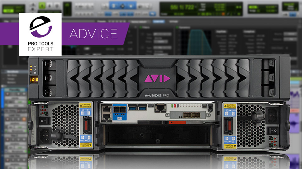 Using Avid Nexis Network Storage With Pro Tools