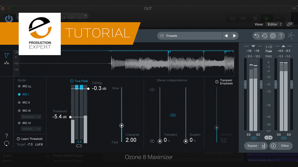 Afraid To Squash Your Mixes? Discover How A Limiter Works and How You Use Them - Free Expert Tutorial
