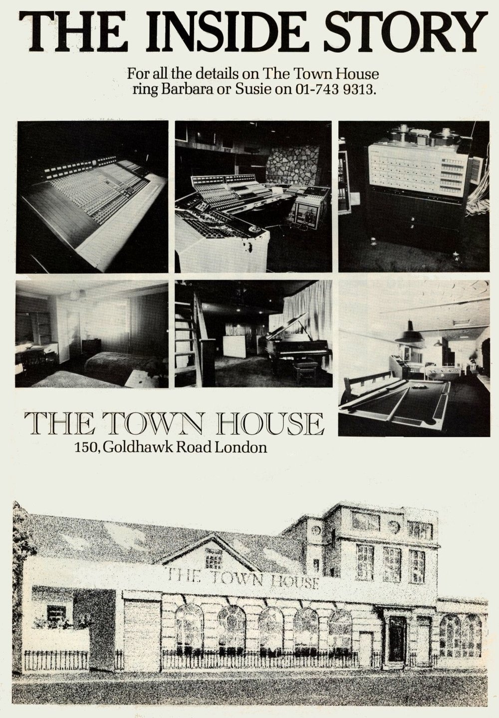 Townhouse Ad