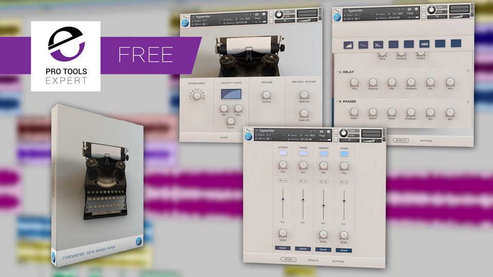 Friday Free Plug-in - Typewriter - A Kontakt Instrument From Wavesfactory