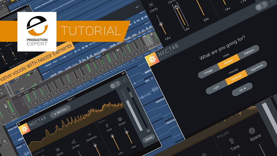 Learn How To Use The Latest Nectar Elements Software From iZotope With These Great Free Tutorials