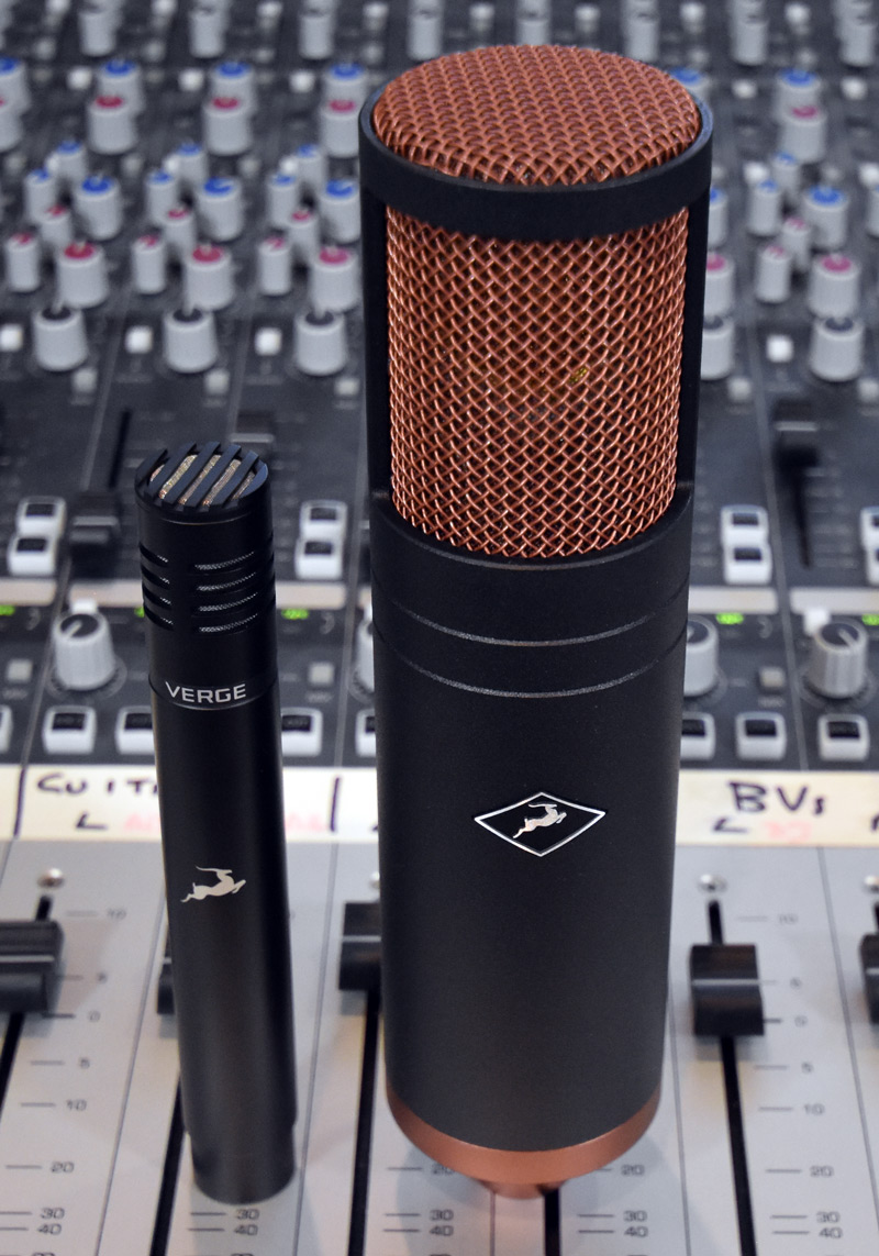Antelope Audio Edge And Verge Condenser Mics