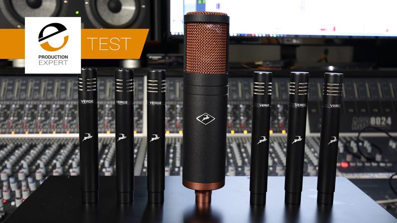 Antelope Audio Discrete 8 Interface With Edge & Verge Microphones