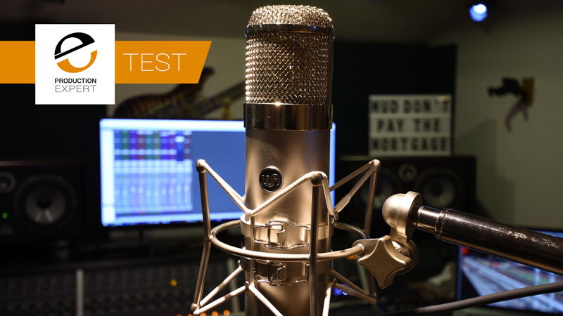 Warm Audio WA-47 Tube Condenser Microphone In It's Shock Mount