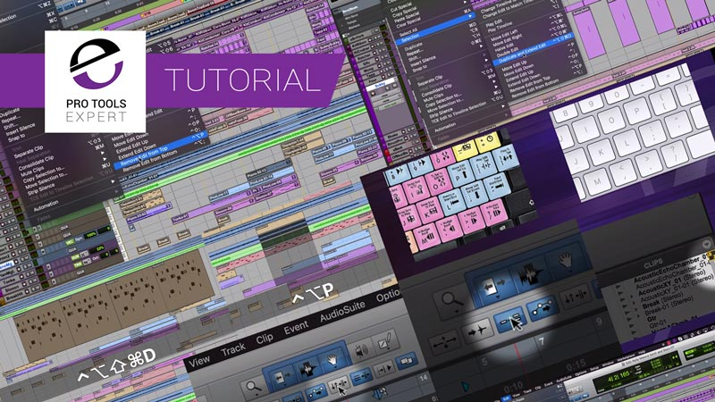 Avid Improve Workflows With More Shortcuts - Learn How To Use Shortcuts More In Pro Tools 2018.7