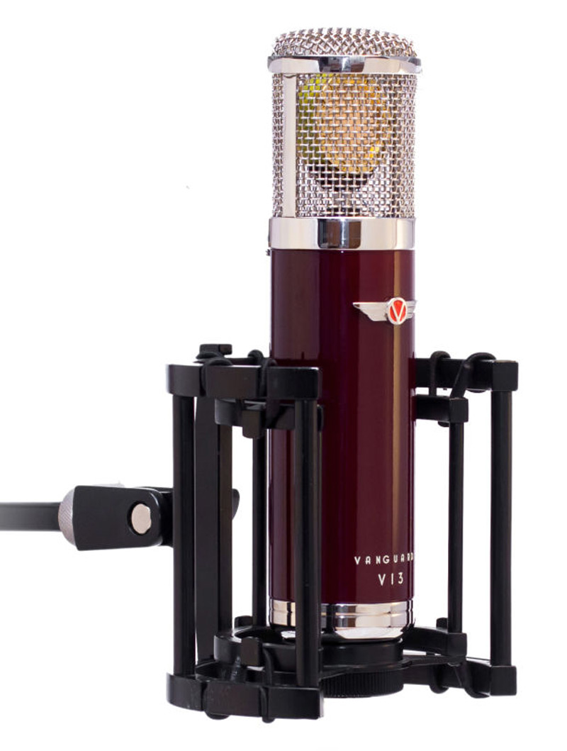 Vanguard Audio Labs V13 Mic With Custom Made Shock Mount