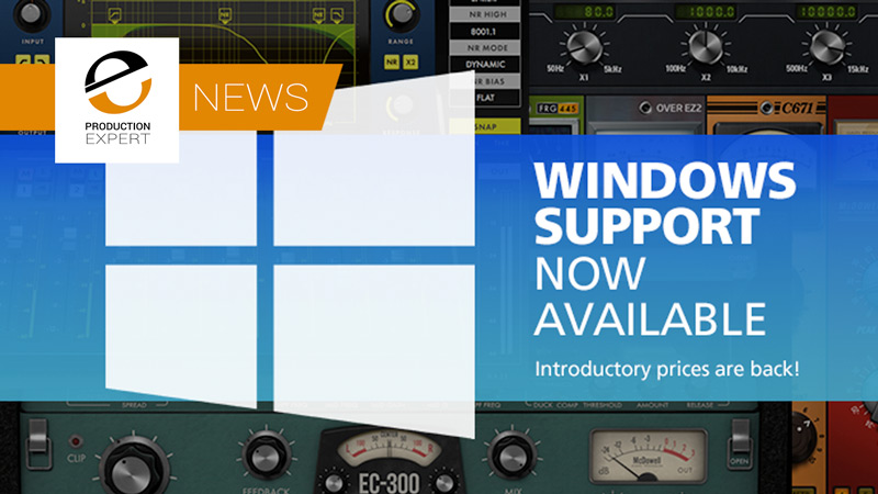McDSP Are Very Pleased To Announce Windows 10 Support For Their Entire Range Of Plug-Ins