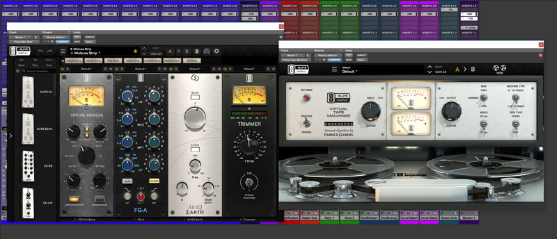 This is the VMR Configuration For The Master Bus Channel Featuring the new FG-A EQ