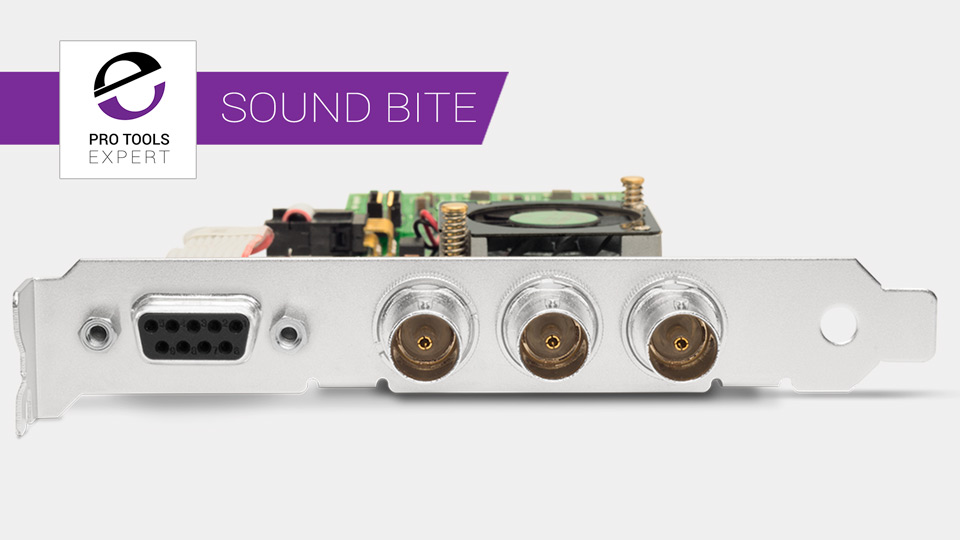 Sound Bite - AJA Release KONA 1 - A New PCI-e Video Card Approved For Pro Tools