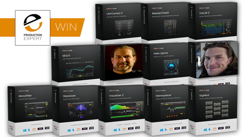 We Announce The 2 Lucky Winners Of Our Recent Nugen Audio Producer And Post Bundles