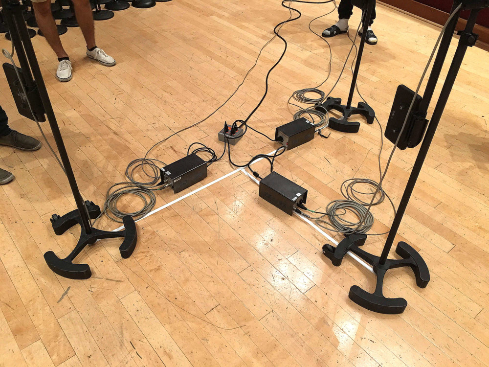 Power supplies for the Decca Tree mics