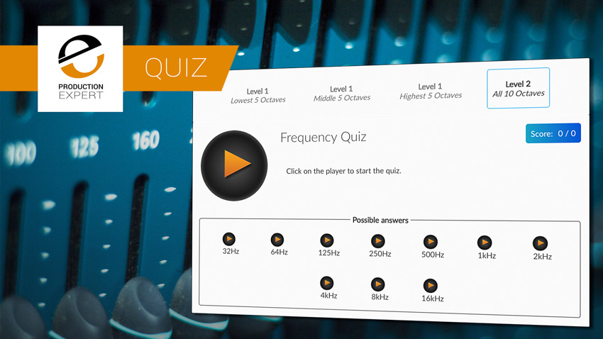 Puremix Frequency Quiz banner
