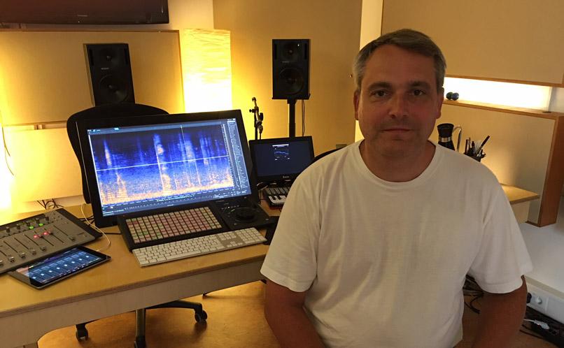 Oliver Lucas Studio shot