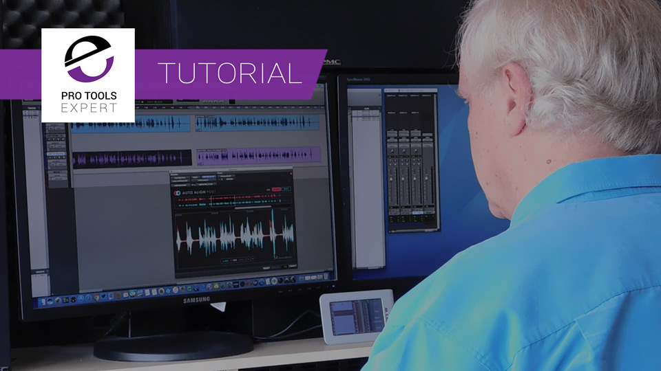 How To Use Auto-Align Post From Sound Radix To get Multiple Mics On Moving Sources In Time And Phase - Expert Tutorial