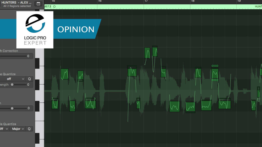 Logic Pro Expert Flex Pitch