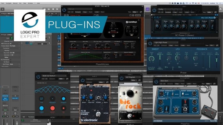 Logic Pro Stunning Phasors The Unsung Hero Of Modulation Makes A