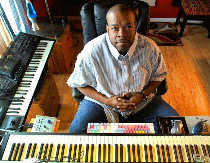 Darrly At Keyboards