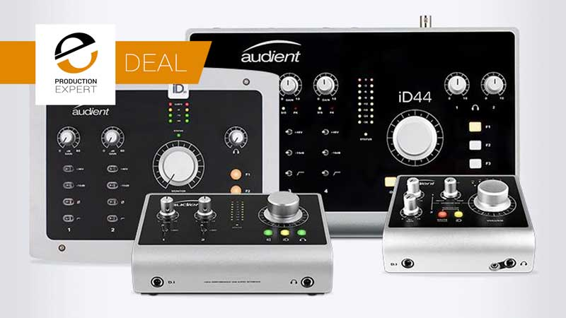 Audient Are Offering Students An Up To 20% Discount On Their iD Range Of Audio Interfaces