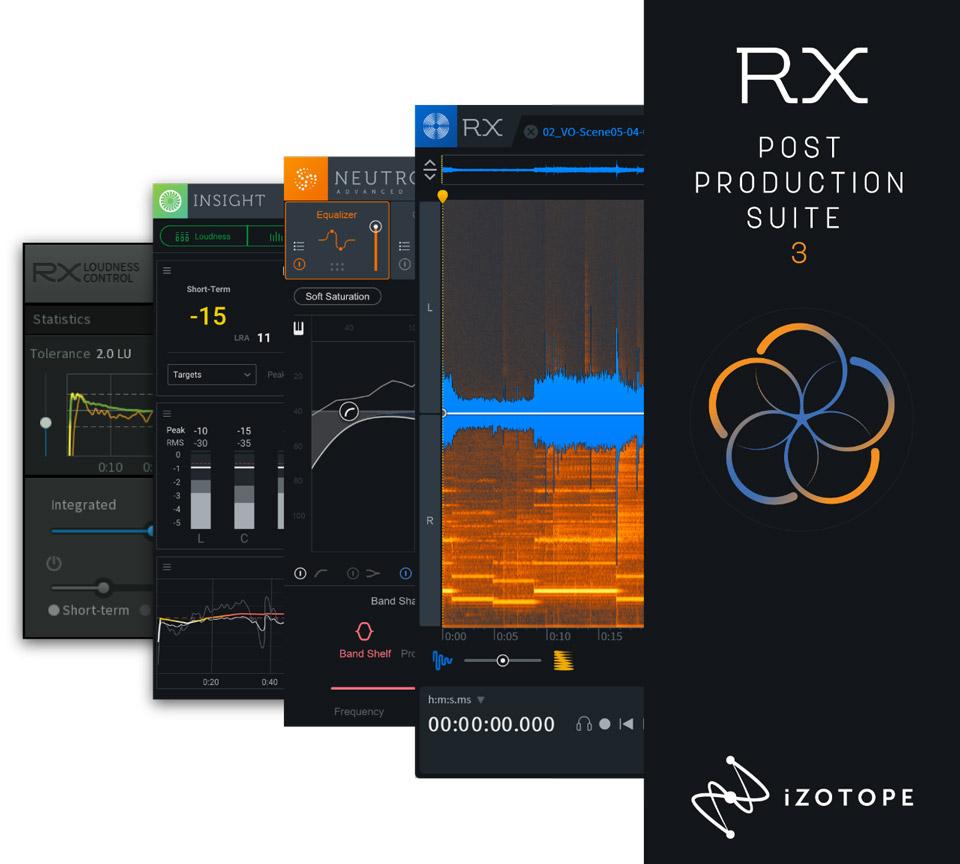 iZotope Post Production Suite 3