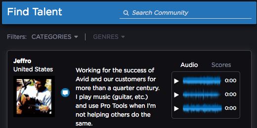 Avid Link - Find Talent