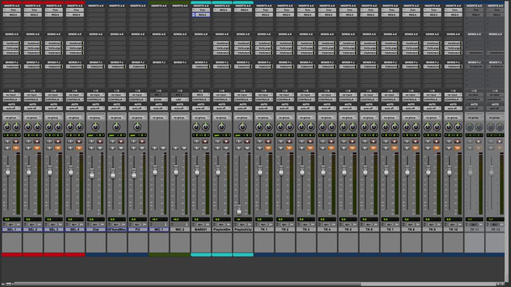 ADR Basic Setup mix Window
