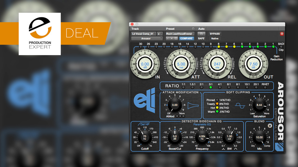 Avid Offering Empirical Labs Arousor Compression Plug-in With 50% Discount Until September 30th 2018