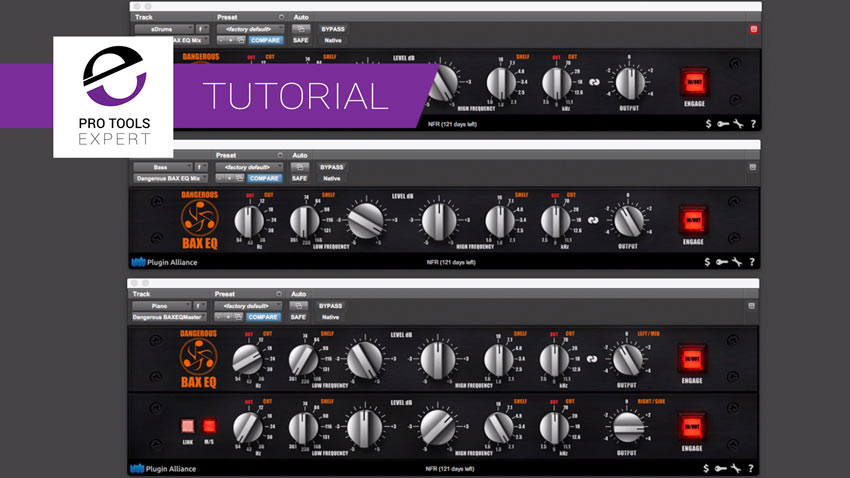 BAX EQ - The Subtle Equaliser From Plugin Alliance Which