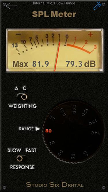 Figure 2 SPL Meter