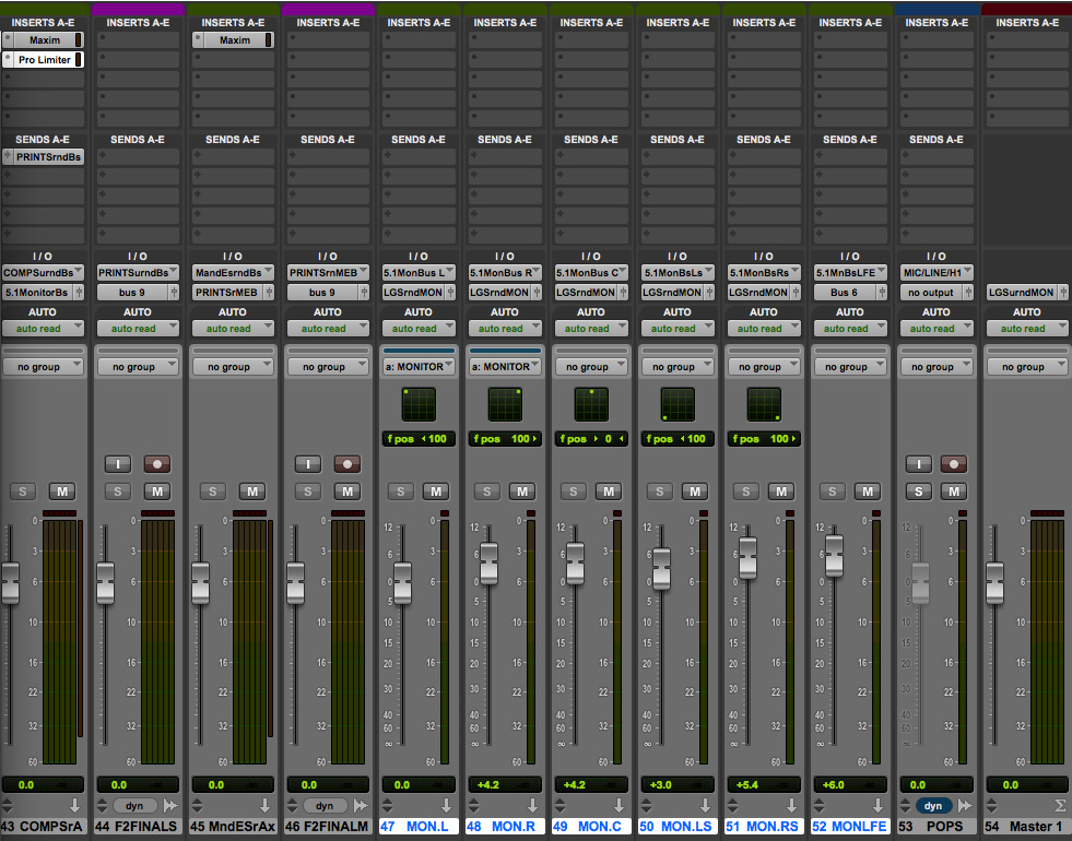 Figure 6 Mixer Screen - Click on the image to see a larger version…