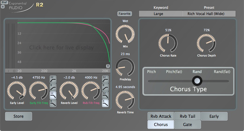 Exponential Audio Fat Chorus Effect