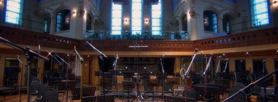 Air Studios Lyndhurst Hall Live Room