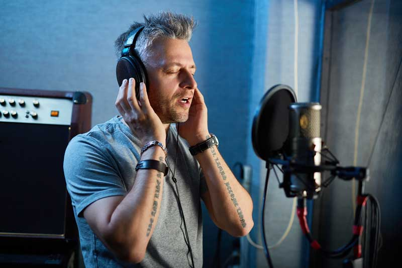 When working with a vocalist, creating a comfortable vocal environment — from the physical space to the headphone mix is paramount.