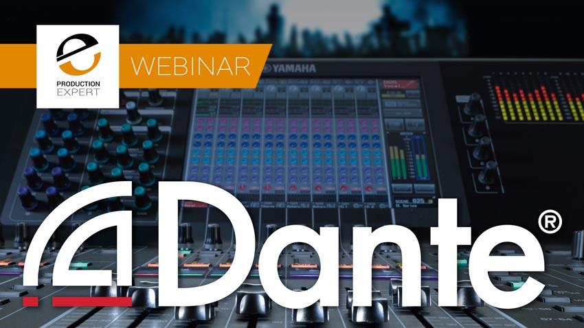 Dante Yamaha Webinar Banner