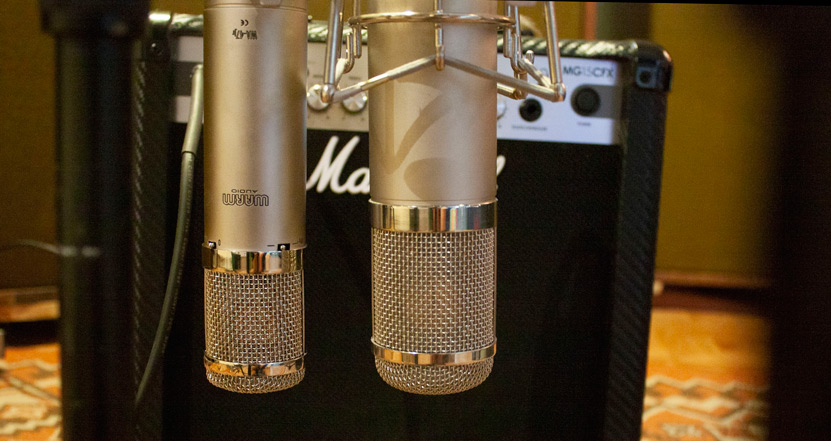 Warm Audio WA-47jr on the left an Peluso 22 47 LE on the right.