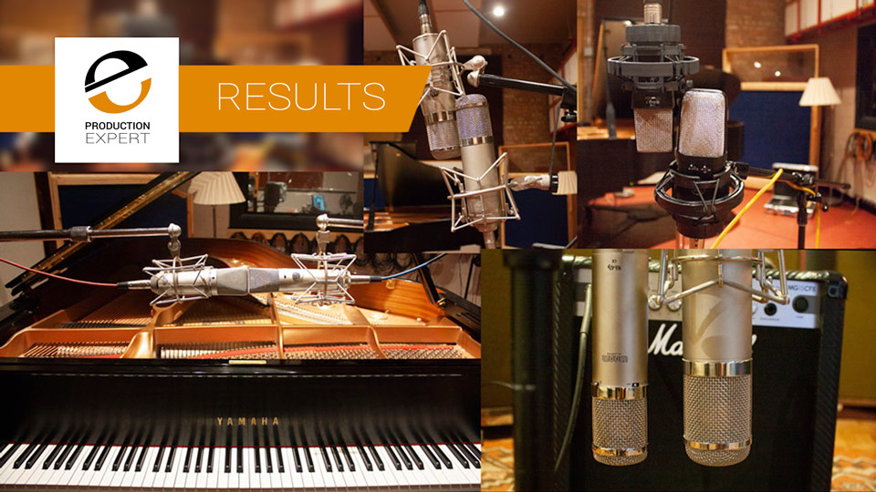 The Results From Testing And Comparing Four Warm Audio Microphones With The Original Mics