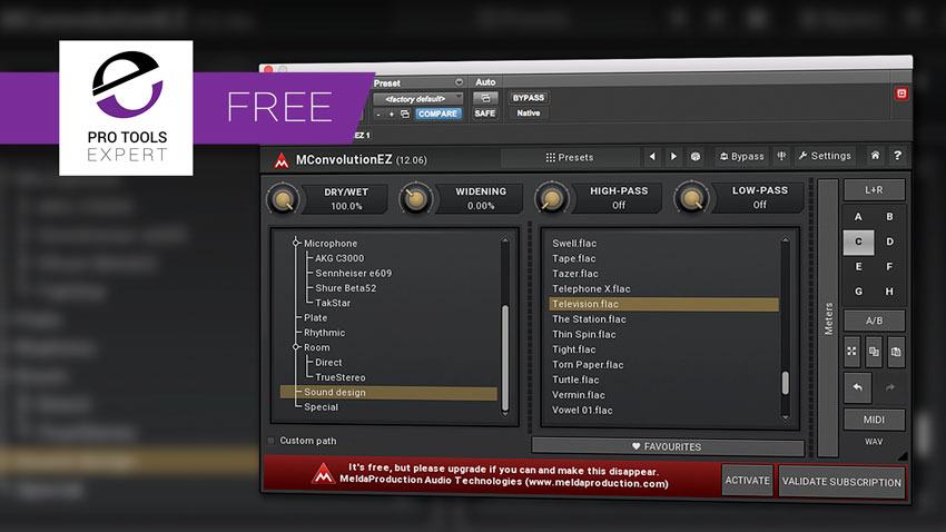 Friday Free Plug-in - MConvolutionEZ From Melda Production