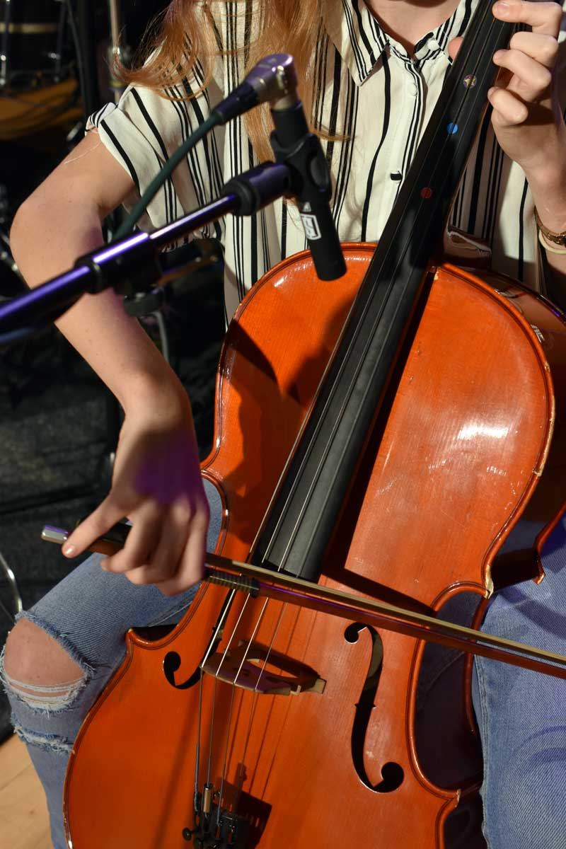 Recording Cello With Slate Digital ML-2 Microphone