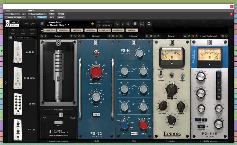 Slate Digital Set Up for Alto Saxophone