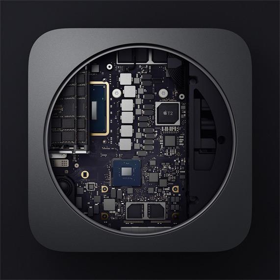 Mac Mini 2018 Interior
