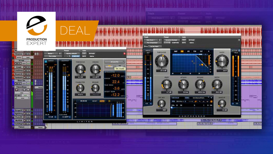 Renew Pro Tools Update & Support Plan And Get Pro Limiter and Pro Compressor for FREE!