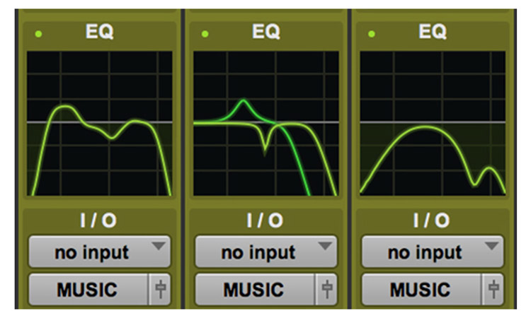 Edit window EQ Graphs