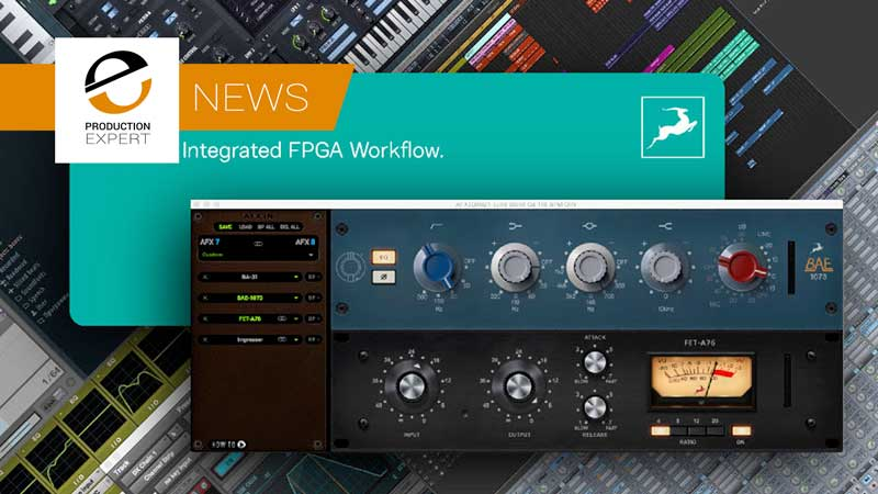 The new afx2daw plug-in workflow by Antelope Audio