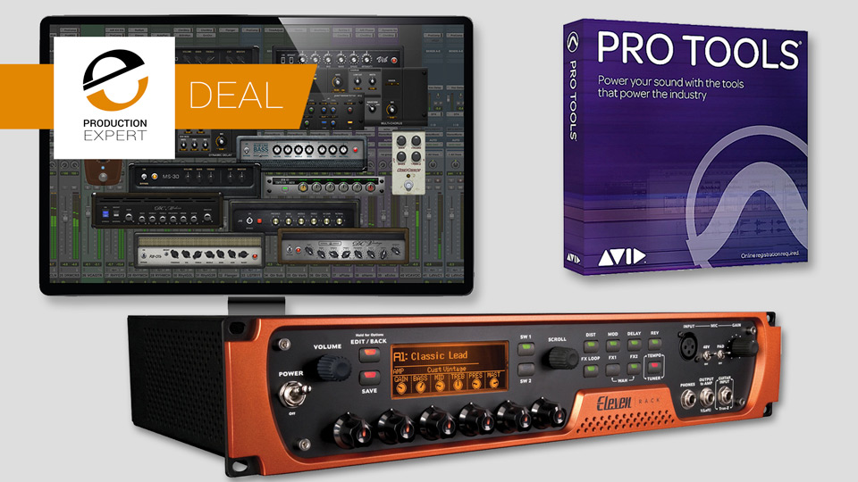 Avid Offer Pro Tools And Eleven Rack Guitar Studio Bundle For $499 - Saving $699