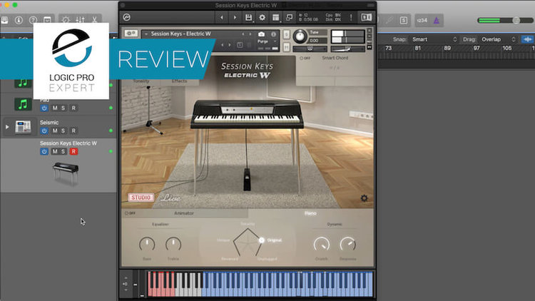 Logic Pro Session Keys Electric W From E Instruments Expert Review