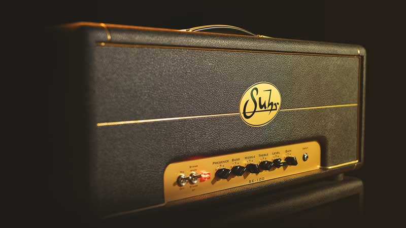 The new Suhr SE100 Guitar Amplifier Plug-in for UAD-2 is Unison Enabled.