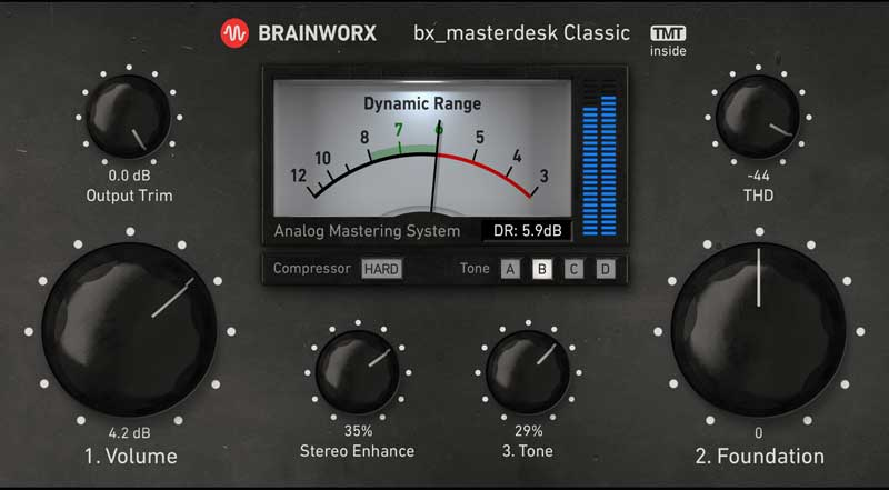Brainworx bx masterdesk Classic available for UAD-2
