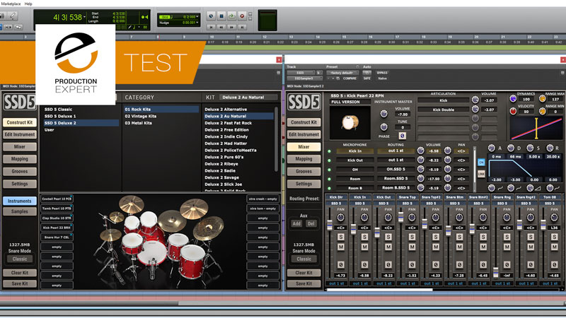We Test The New Steven Slate Drums 5 Drum Sampler In A Real World Recording Session