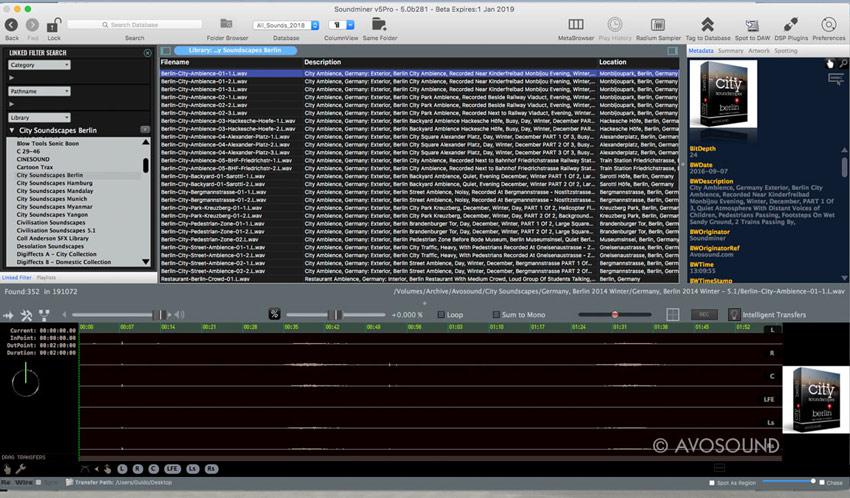 Soundminer V5 Pro