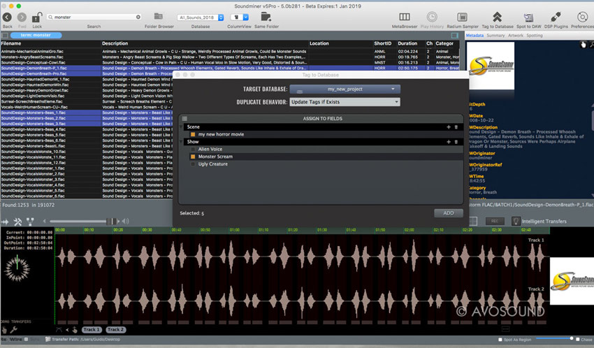 soundminer-v5-pro-tag-to-database